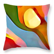 Paradise Found 4 Throw Pillow by Amy Vangsgard