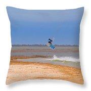 Parasurfer4 Throw Pillow by Rrrose Pix
