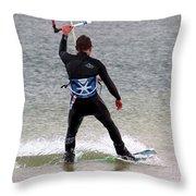 Parasurfer5 Throw Pillow by Rrrose Pix