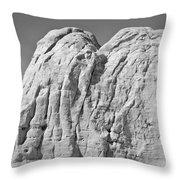 Paria Utah X Throw Pillow by Dave Gordon