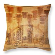 Parts Of Time Throw Pillow by Fran Riley