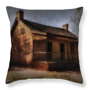 Passing The Time Throw Pillow by Sandra Bronstein