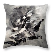 Passion Throw Pillow by Isabelle Vobmann