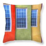 Pastel Throw Pillow by Paul Wear