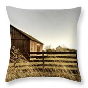 Pasture Throw Pillow by Margie Hurwich