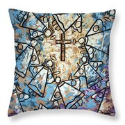 Peace Throw Pillow by Anthony Falbo