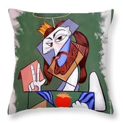 Peace Be With You Throw Pillow by Anthony Falbo