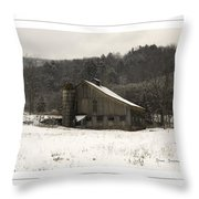 Peace In The Valley Throw Pillow by John Stephens