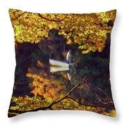 Peace Throw Pillow by Joann Vitali