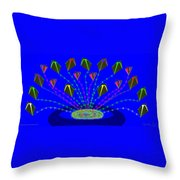 Peace Offering Throw Pillow by Cynthia Johnson