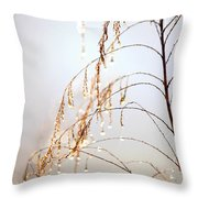 Peaceful Morning Throw Pillow by Carol Groenen
