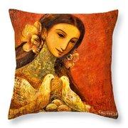 Peaceful Throw Pillow by Shijun Munns