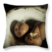 Pear Love Throw Pillow by Amy Weiss
