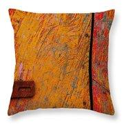Pescarosa Throw Pillow by Skip Hunt