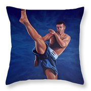 Peter Aerts  Throw Pillow by Paul Meijering