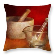 Pharmacist - Very important tools  Throw Pillow by Mike Savad