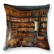 Pharmacy - Medicinal Chemistry Throw Pillow by Mike Savad