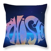 Phish Throw Pillow by Bill Cannon