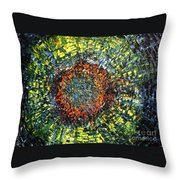 Physiological Supernova Throw Pillow by Michael Kulick