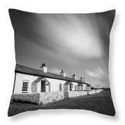 Pilot Cottages Throw Pillow by Dave Bowman