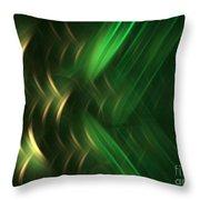 Pine Throw Pillow by Kim Sy Ok