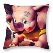 Pinkie Throw Pillow by Gabe Arroyo