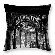Pioneer Square Pergola Throw Pillow by David Patterson