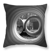 Pipe Dream Throw Pillow by Luke Moore
