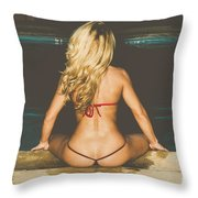 PIPER DREAMS No78-9173 Throw Pillow by Nasser Studios