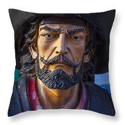 Pirate Captain Throw Pillow by Garry Gay