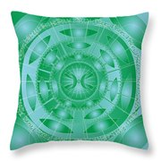 Pisces Throw Pillow by Sarah  Niebank