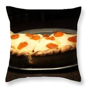 Pizza Pie - 5D20701 Throw Pillow by Wingsdomain Art and Photography