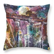 Places Of Power Timeless Throw Pillow by Patricia Allingham Carlson