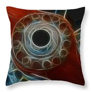 Plane Old Wooden Prop Throw Pillow by Paul Ward