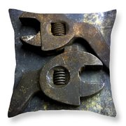 Pliers Throw Pillow by Bernard Jaubert