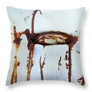 Pocket of Time Throw Pillow by Fran Riley