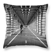 Pont De Bercy Throw Pillow by Delphimages Photo Creations