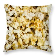 Popcorn - Featured 3 Throw Pillow by Alexander Senin
