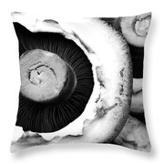 Portabellini Throw Pillow by Anne Gilbert