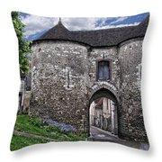 Porte Saint-jean Throw Pillow by Nikolyn McDonald