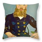 Postes Throw Pillow by Jessica Sanders