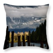 Potential - Landscape Photography Throw Pillow by Jordan Blackstone