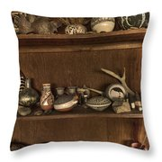 Pots And Things Throw Pillow by William Fields