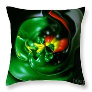 Pouring Out Throw Pillow by Cheryl Young