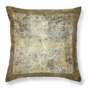 Prayer Flag 203 Throw Pillow by Carol Leigh