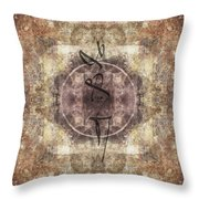Prayer Flag 34 Throw Pillow by Carol Leigh