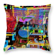 precious is man for he is created in the Divine Image 10 Throw Pillow by David Baruch Wolk