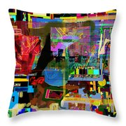 precious is man for he is created in the Divine Image 13 Throw Pillow by David Baruch Wolk