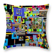 precious is man for he is created in the Divine Image 5 Throw Pillow by David Baruch Wolk