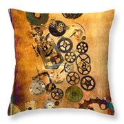 Present Throw Pillow by Fran Riley
